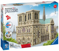 12523 Ravensburger Notre Dame 3D Jigsaw Puzzle 324 Quality Pieces Age 12+ Years