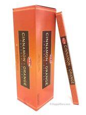 """Cinnamon Orange"" HEM Brand Incense 200 Sticks (25 Square Boxes)"