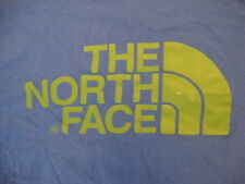 The North Face Outdoor Wear Mountain Adventure Blue T Shirt S / M