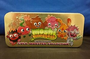 Moshi Monsters Series 6 Gold Collection Tin - SEALED, NEW