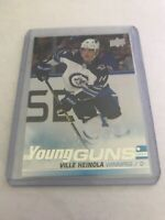 2019-20 UPPER DECK SERIES 1 YOUNG GUNS VILLE HEINOLA