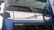 4 Stk. Gitter Gril Spiegel Poliert Edelstahl Dekoration für VOLVO FH 4 LKW Truck