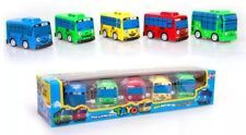 5pcs TAYO The Little Bus Cartoon Mini Pull Back Wind Toy Set Rogi Gani Rani Cito