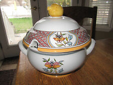 VILLEROY & BOCH NORMANDIE COVERED SOUP TUREEN -