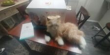 Joy For All - Orange Tabby Cat - Interactive Companion Realistic & Lifelike Pet