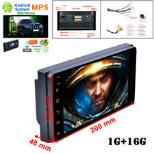 "7"" 2DIN HD Touch Screen 1G+16G Bluetooth AUX Car Radio MP5 Player w/ Rear Camera"