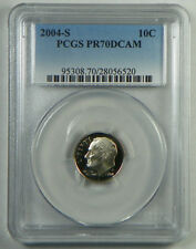 2004-S Proof Roosevelt Dime PCGS PR70DCAM  - FREE SHIPPING