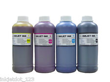 printer refill ink 4x500ml black cyan magenta yellow for HP Canon Dell Brother