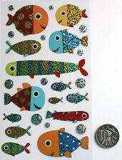 NO 199 Scrapbooking - 26 Fish Stickers - Scrapbook Holidays