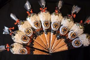 Large Football Party Bags Personalised Filled Goody Cones Sweets Birthday