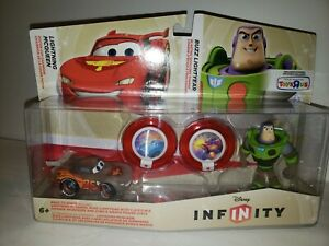 D47 Disney Infinity Race To Space Lightning McQueen and Buzz Lightyear Toysrus