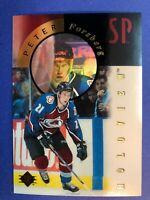 1995-96 UD Upper Deck SP Holoview #FX4 Peter Forsberg Colorado Avalanche Insert