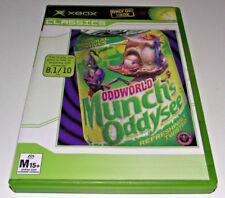 Oddworld Munch's Oddysee Xbox (Classics) Original PAL *Complete**