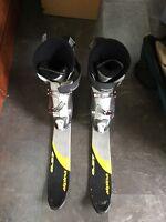 """Pipe Dream 100-84-106 38"""" Long w/ Tecnica Ski Boots ALU 6060 Men's Size 9"""