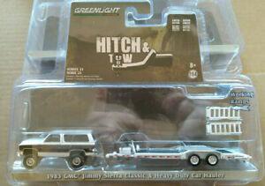 Greenlight Hitch & tow 1983 gmc jimmy sierra classic & heavy duty car (carton)