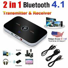 Bluetooth Transmitter Receiver Wireless Adapter For Home stereos TV, DVD player