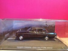 007 SUPERBE TOYOTA CROWN YOU ONLY LIVE TWICE 1/43 BOITE SOUS BLISTER Q8