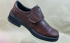 Josef Seibel Womens Brown Leather Monk Strap Dress Shoe Size EUR 39 US 8/8.5#A56