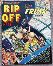 Rip Off no. 12 - Underground comic from 1983 with Freak Brothers, Warthog etc