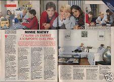 Coupure de presse Clipping 1995 Mimie Mathy  (2 pages)