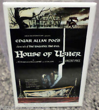 "House Of Usher Movie Poster 2"" x 3"" Refrigerator Locker MAGNET Price Poe"