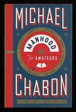 Michael Chabon - Manhood for Amateurs; 1st/1st