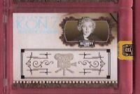 MARILYN MONROE WORN RELIC SWATCH MEMORABILIA CARD #100 2008 CUTS AMERICANA ICONS