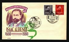 Spain 1960 Albeniz FDC / Hand Colored / UA - L3419