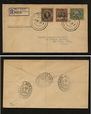 Niue  112-114  registered cover first day cancel  1938    KEL0426