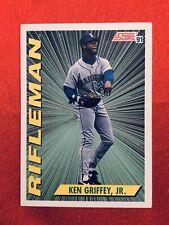 1991 ~ KEN GRIFFEY JR. #697 Score Baseball Card 'Rifleman' ~ NM-MT