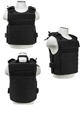 NcSTAR Ballistic Plate Carrier Vest w/External Pockets 2XL-4XL Adjustable BLK