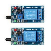 5/12V Flame Sensor Relay Combo DC Fire Detection Alarm Module for Arduino^