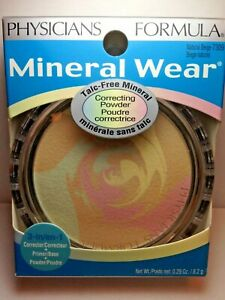 Physicians Formula Mineral Wear Talc Free Correcting Powder 7309 Natural Beige