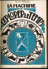 WELLS LA MACHINE A EXPLORER LE TEMPS KIEFFER AMOUR LIVRES CAMI 1927