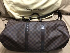 Authentic Louis Vuitton Keepall 55 Bandouliere Damier