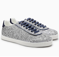 NEXT Ladies Silver Glitter Trainers - Brand New - UK 6 / EU 39 - RRP £35