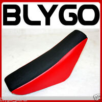 RED Flat Tall Foam Seat CRF50 Style 110cc 125cc 140cc PIT PRO TRAIL DIRT BIKE