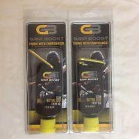 Lot of 2 Grip Boost Batting Glove Gel Net Wt 2 oz Baseball Softball Bat NIB FS!