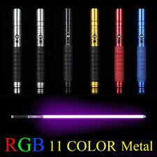 miecz świetlny Lightsaber Metal Sword RGB Laser Boy Kids Gift Light Wars Toys