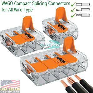 Wago 2,3,5 Conductor Splicing Wire Connector (Total 10 Pieces)
