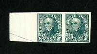 US Stamps # 258 F-VF OG NH Slight Gum Crease Catalog Value $500.00