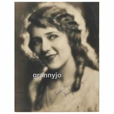Mary Pickford Actress, Original 1918 Double Weight Sepia Tone Photograph