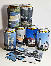 30 Custom Beer Can KoolIe Insulators Foam Photo Text Reunion Weddings, Parties