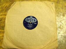 Vintage Decca 78 record Hey There / Hernando's Hideaway by Lita Roza F10611