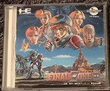 PC-Engine: Final Zone II (cd-rom2/JP)