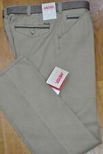 MEYER PANTALONE UOMO MODELLO CHICAGO 1-5133/43 STRETCH  TG. 56  BEIGE PRIM/EST