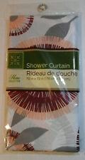 NEW HOME COLLECTION SHOWER CURTAIN 70X72 INCHES Rideau de douche