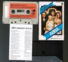 ABBA ABBA's Greatest Hits 20-Top Run JAPAN CASSETTE DCP-4003 w/SLIP CASE+INSERT