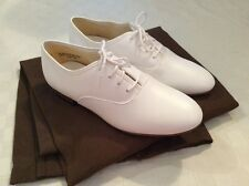 Charterhouse Men's Dress Shoes White Lace Up Formal Groom Wedding 8 Extra Wide
