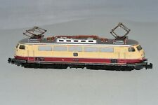 N Scale MINITRIX 2945 DB MAROON/CREAM TEE BR E03 001 Electric Locomotive